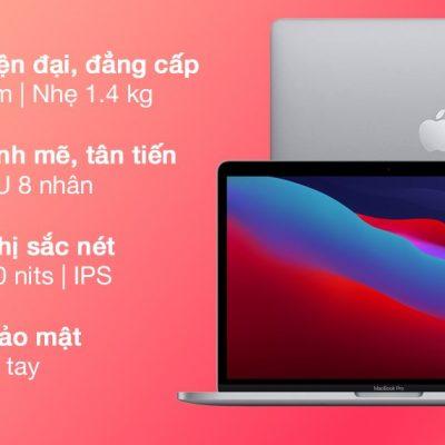 Laptop Apple MacBook Pro M1 2020/16GB/256GB/Space Gray (Z11B000CT)