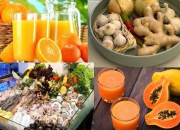 Dinh dưỡng giúp tăng cường sức đề kháng trong mùa dịch COVID-19