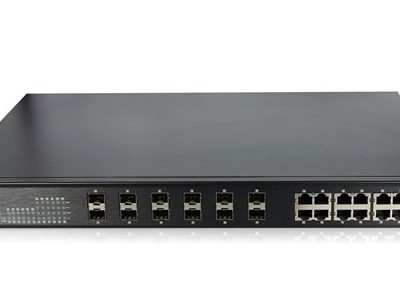 12-Port 10/100/1000Base-T(X) + 12-Port 1000Base-X Switch WINTOP YT-CS7024-12GF12GT