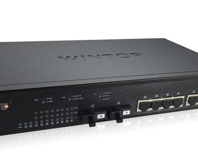 8-Port 10/100/1000Base-T(X) + 2-Port 1000Base-F(X) Switch WINTOP YT-DS2010-2GF8GT