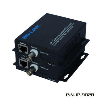 Bộ chuyển đôi Camera Ip qua cáp đồng trục IP /BNC IP-902B HOLINK